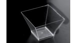 12 pz - Coppetta Medium Pagoda FINGERFOOD - in plastica trasparente 150cc