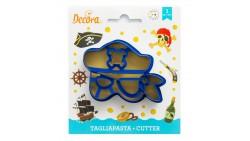 Tagliapasta MASCHERA Pirata mascherina CARNEVALE  biscotti, Dolci, Torte