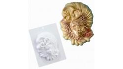 Stampo in plastica per maschera in cioccolato - carnevale veneziana 135x175x40mm