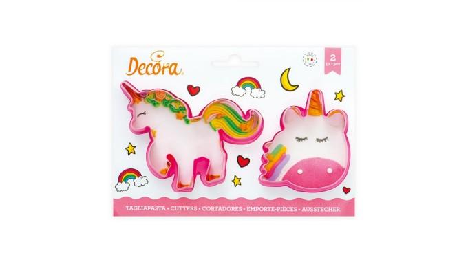2 Tagliapasta UNICORNO magic Unicorns - taglia biscotti Dolci, Torte