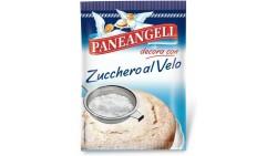 PANEANGELI Zucchero a Velo 125gr ideale da cospargere sulla superficie dei dolci