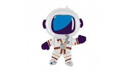 PALLONCINO in foil Mylar a forma di AsTRONAUTA tuta Spazio Spaziale 91cm