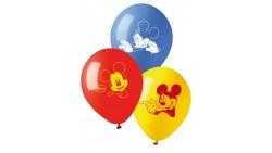 10 PALLONCINI in LATTICE Topolino - Mickey Mouse Club House - per feste, COMPLEANNO