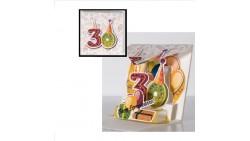 Biglietto augurale ORIGAMO 30 anni Compleanno - Biglietto auguri Abbracci POP UP