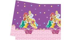 1 tovaglia Principesse Palace Pets Disney  120x180cm - festa per bambini
