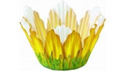 24 pirottini GIRASOLE giallo in carta forno - Cupcake, muffin