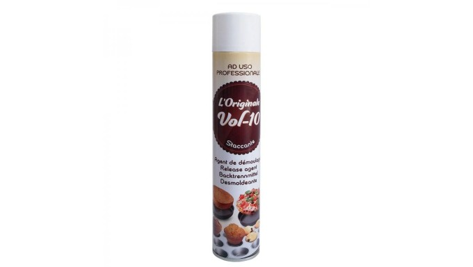 Spray STACCANTE ALIMENTARE teglie 500ml Burro spray antiaderente dolci e salati