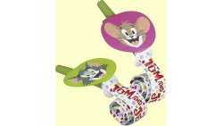 6 Lingue Tom e Jerry Trombette FISCHIETTI a LINGUA - compleanni, feste e party