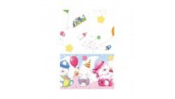 Tovaglia in carta Teddy e Friends decoro Tavolo - 120 x 180cm