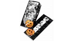 20 Buste Porta Caramelle HALLOWEEN - bustine con disegna di zucca ragni