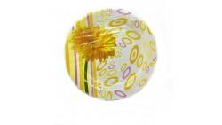 10 Piatti Happy Flower con GIRASOLE Giallo in carta - piatto 23cm