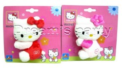 HELLO KITTY 12 CM MAGNETIC PLUSH