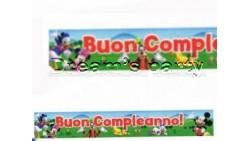 3 FESTONI TOPOLINO 13X90 CM IN PVC