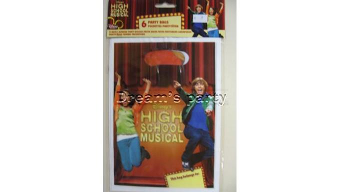 6 BORSINE FESTA IN PVC HIGH SCHOOL MUSICAL