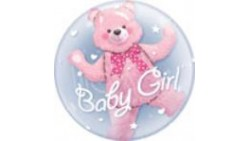 PALLONE BUBBLES  INSIDER BABY GIRLBIRTHDAY BUBBLE