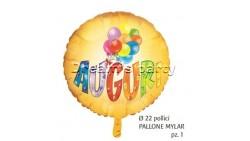 PALLONE MYLAR AUGURI 22 POLLICI