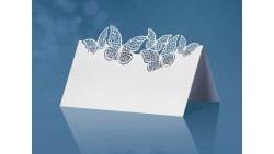 10 segnaposto per tavola farfalle