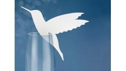 10 segnaposto per tavola uccello Colibrì