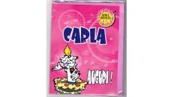 Biglietto di auguri Musicale - Cantanome CARLA
