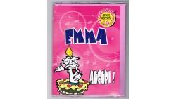Biglietto di auguri Musicale - Cantanome EMMA