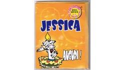 Biglietto di auguri Musicale - Cantanome JESSICA