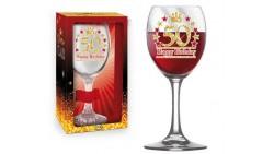 Bicchiere da Vino - Brindisi 50 Anni
