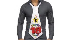 CRAVATTONE Party 18 Anni - idea scherzo gadget per compleanno maggiorenne