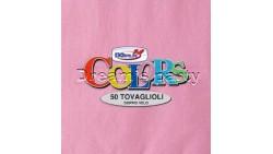 50 TOVAGLIOLI in carta monouso - ROSA