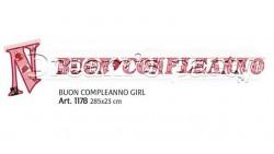 FESTONE BUON COMPLEANNO GIRL 330X23 CM