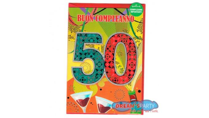 Biglietti Auguri Compleanno 50 Anni Spiritosi Da Stampare Gratis
