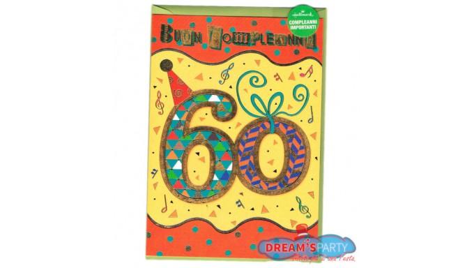 Favorito Biglietto di Compleanno - Pop Up 60 Anni DZ94