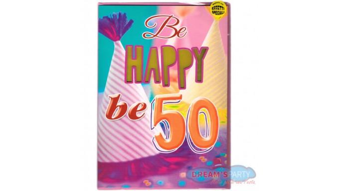 Biglietto D Auguri Per 50 Anni Musicale E Luminoso Lei