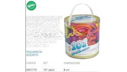 SET 101 TAGLIAPASTA ASSORTITI IN PLASTICA
