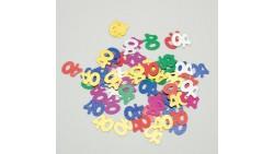 Confetti - Coriandoli da tavola sagomati 40 Anni Multicolor