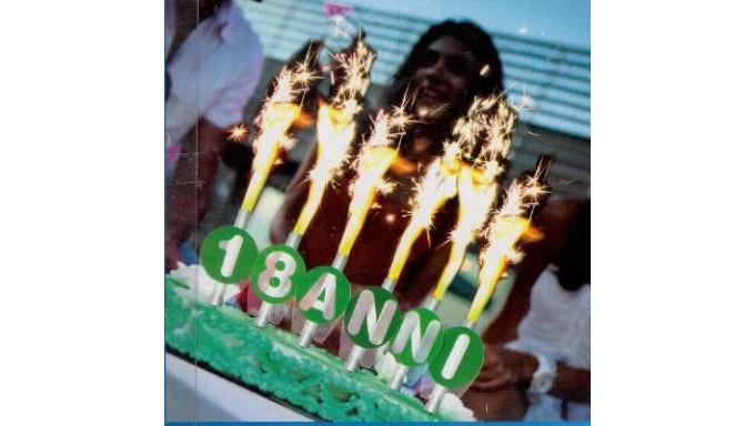Kit 6 candele fontane da interno 18 anni - Fontane da interno ...