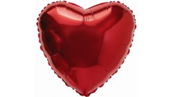CUORE ROSSO MYLAR 76CM
