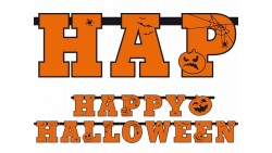 FESTONE girlanda Happy Halloween - addobbo festa HALLOWEEN