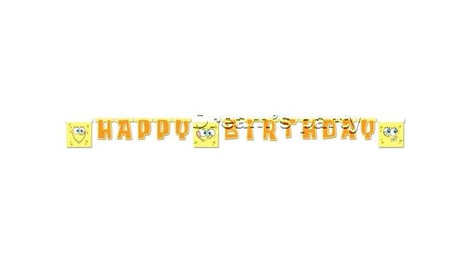 FESTONE SPONGEBOB HAPPY BIRTHDAY 1,7MT