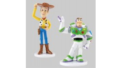 KIT personaggi TOY STORY - WOODY e BUZZ LIGHTYEAR - decorazione per torte e dolci